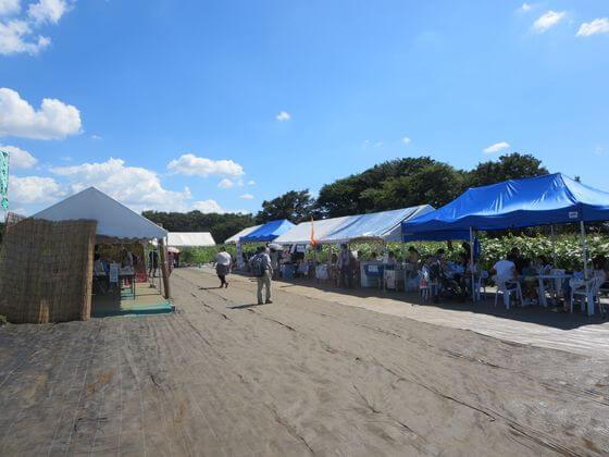 清瀬ひまわりフェスティバル 休憩所