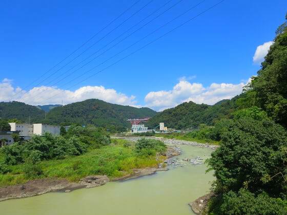 酒匂川 景色