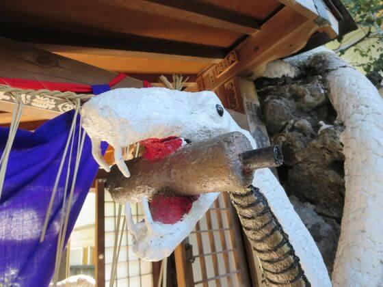 東京の白蛇様