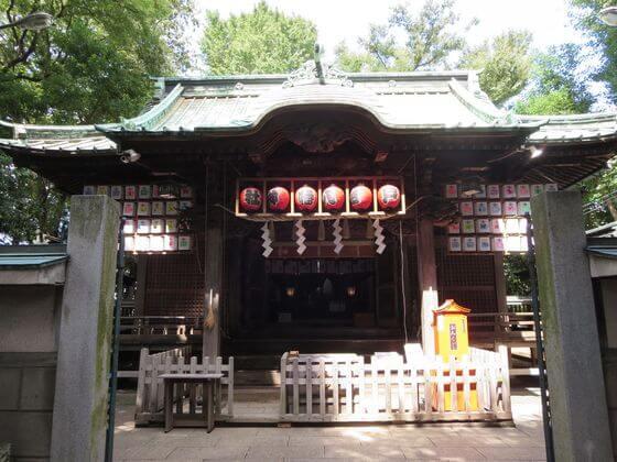 戸越八幡神社 社殿