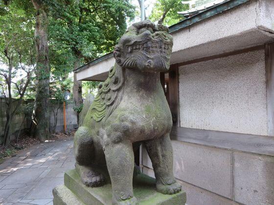 戸越八幡神社 狛犬 左