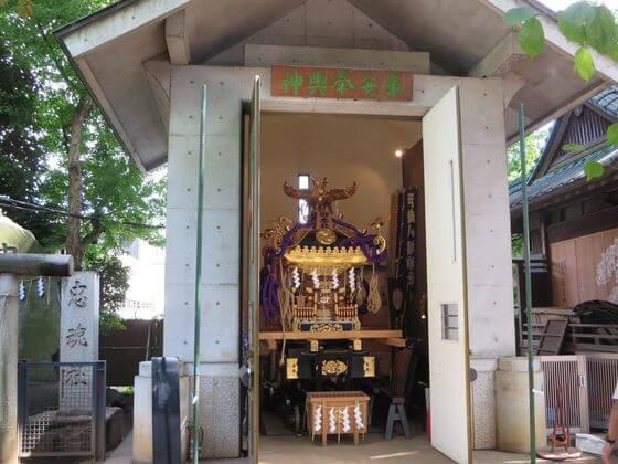 戸越八幡神社 神輿