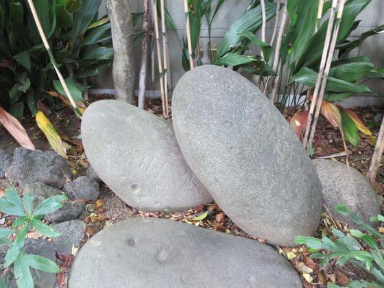 戸越八幡神社 力石
