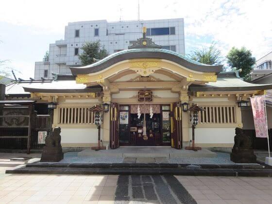 高輪神社 社殿