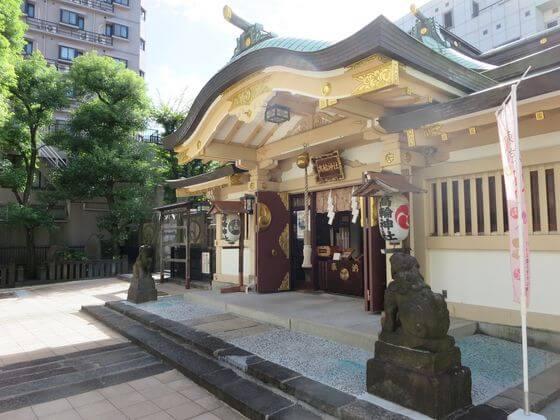 東京福めぐり 高輪神社
