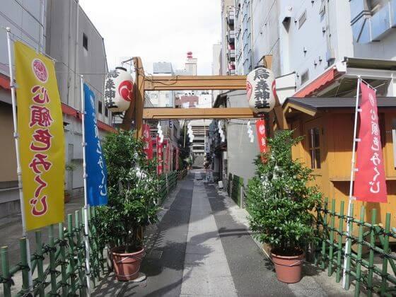 烏森神社 第一鳥居