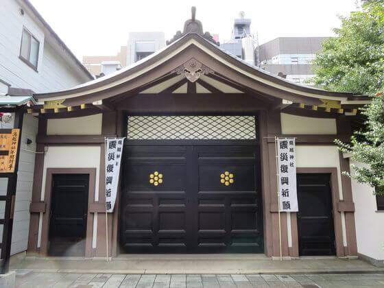 鳥越神社 神輿庫