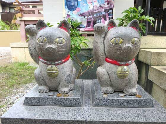今戸神社 石なで猫