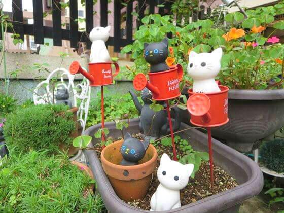 今戸神社 猫 置物