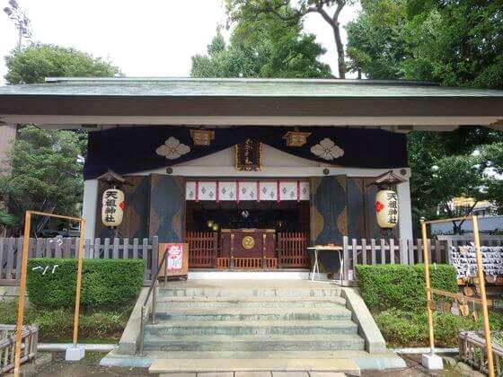 下神明天祖神社 社殿