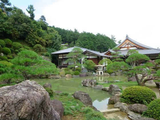 聖天院 庭園