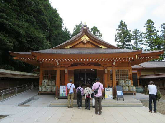 高麗神社 社殿