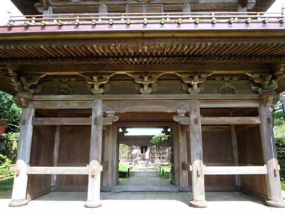 英勝寺 鎌倉 山門