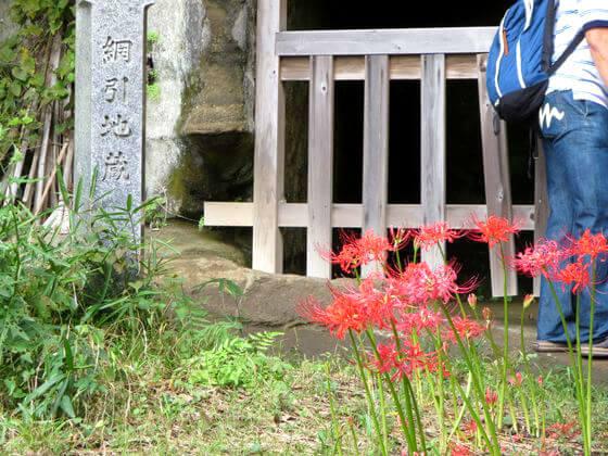 浄光明寺 鎌倉 曼珠沙華