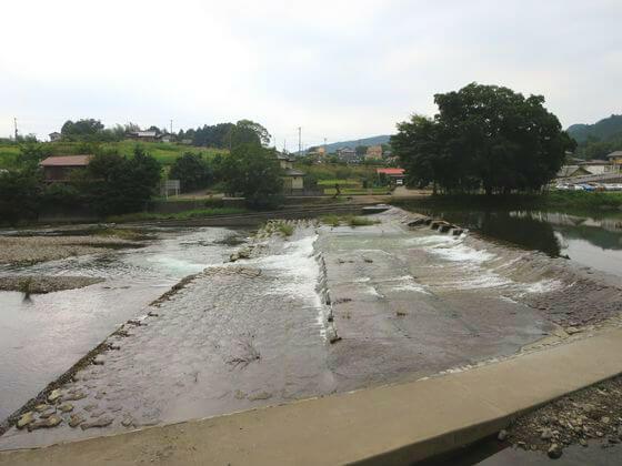 鹿台堰魚道