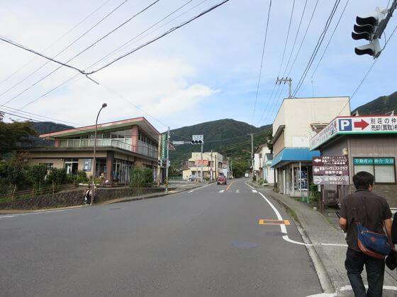 仙石 バス停