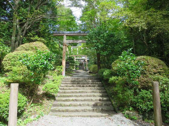 公時神社 一の鳥居