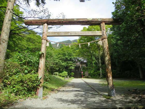 公時神社 二の鳥居