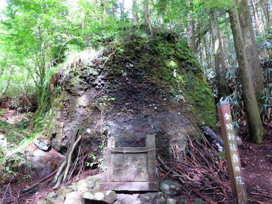 奥の院 金時神社