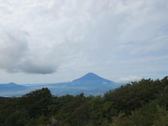金時山 富士山