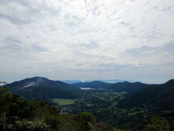 金時山 風景