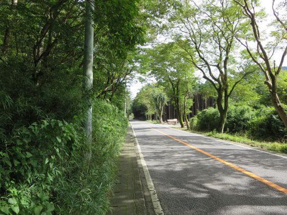 金時山 神社口