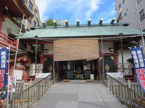 鷲神社 寿老人