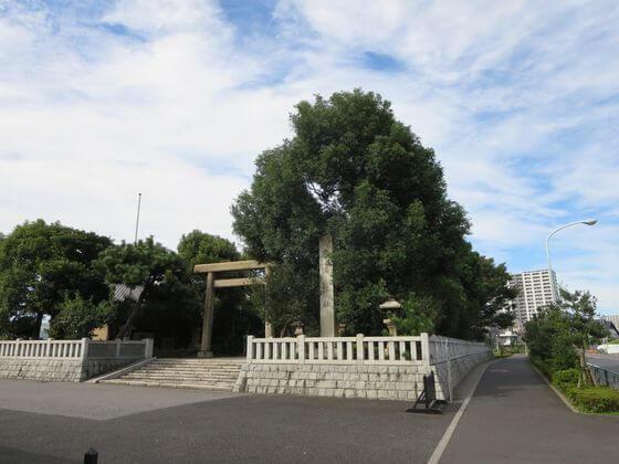 石浜神社 鳥居