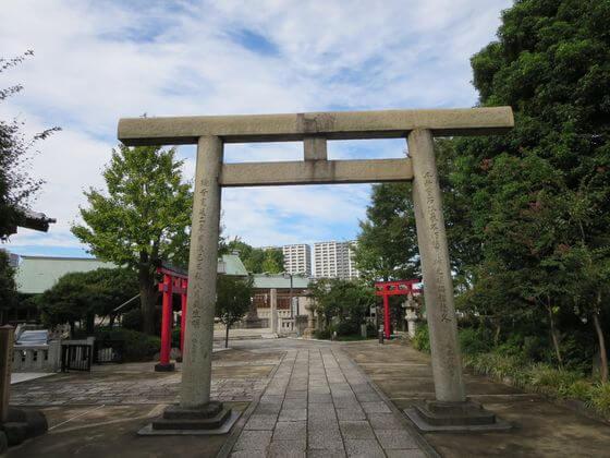 浅草名所七福神 石浜神社