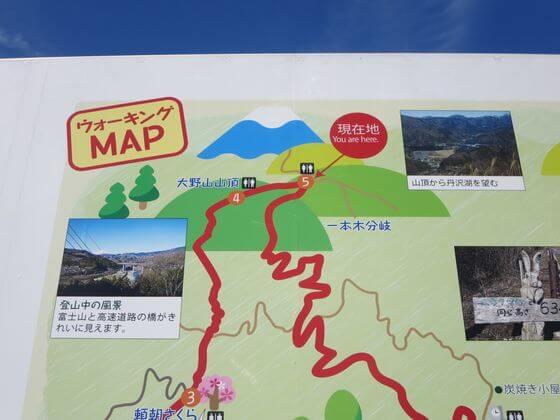 大野山 地図