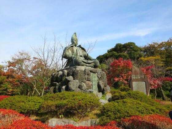 源氏山公園 紅葉 鎌倉