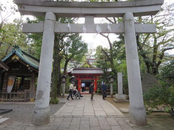 愛宕神社 一の鳥居