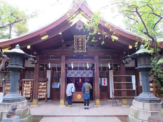 愛宕神社 社殿
