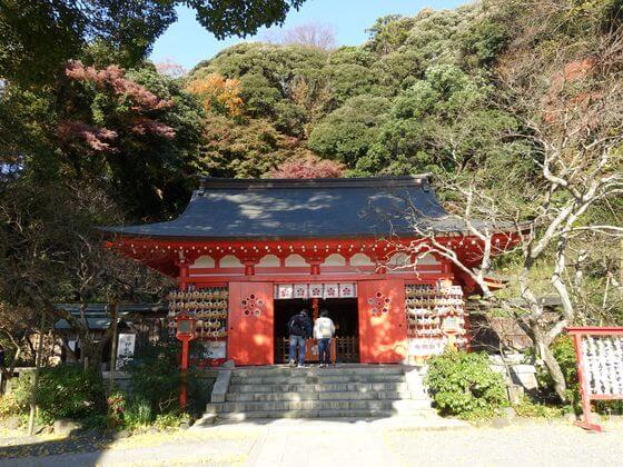 荏柄天神社 拝殿