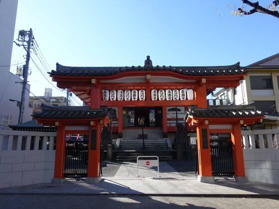 新宿山ノ手七福神 善国寺