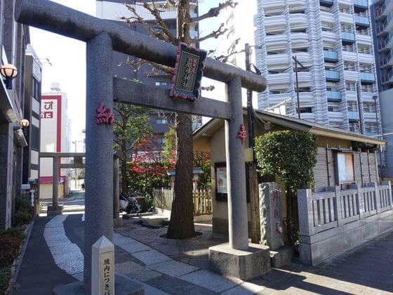新宿山ノ手七福神 厳島神社