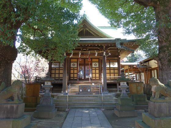 西向天神社 社殿