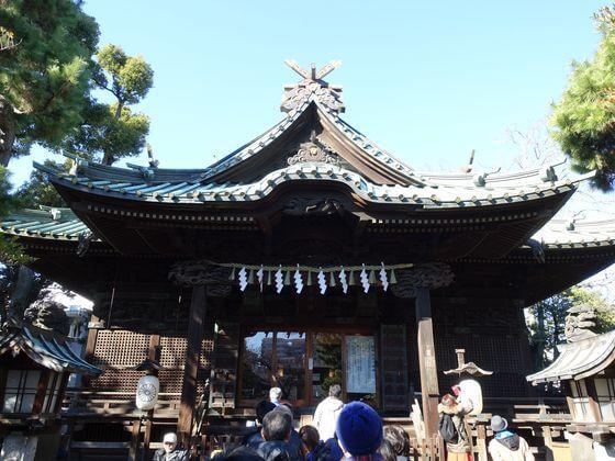 荏原神社 社殿