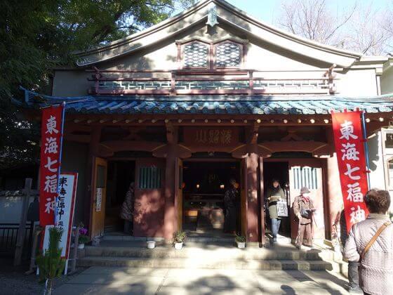 品川寺 本堂
