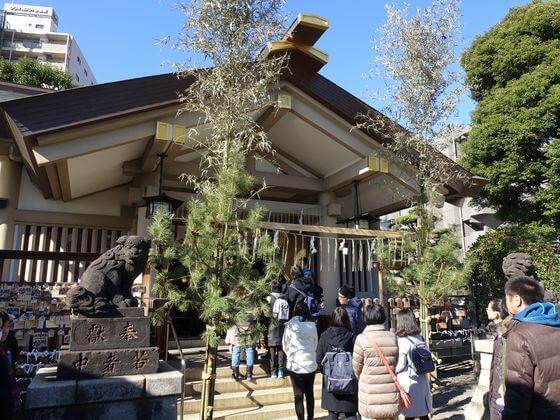 天祖諏訪神社 社殿