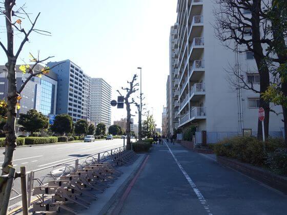 第一京浜 大森海岸