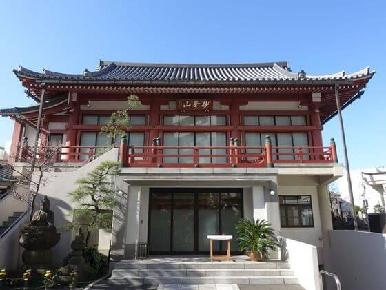 徳雲寺 本堂