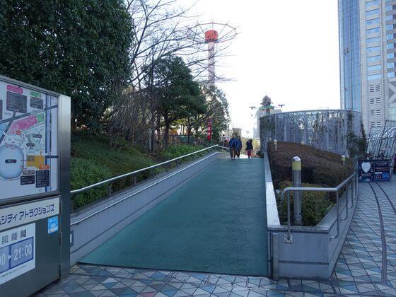 東京ドーム ジオポリス屋上
