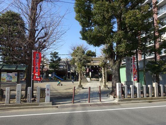 多摩川七福神 氷川神社