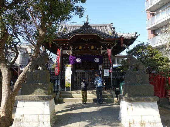 大田区 矢口 氷川神社