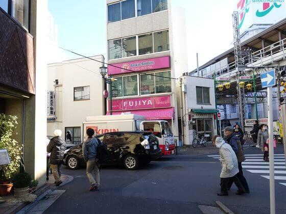 京成高砂駅 都道307号線