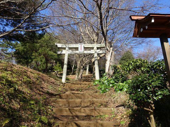 吾妻山公園 浅間神社