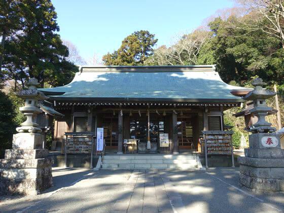 川勾神社 社殿