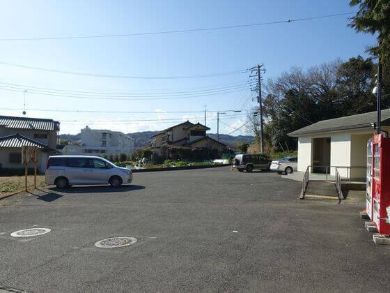 川勾神社 駐車場