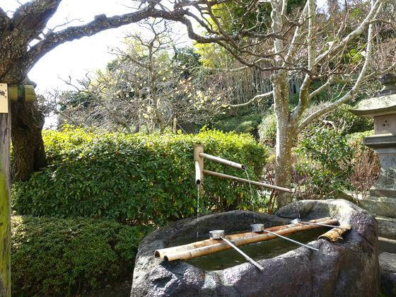 長谷寺 手水舎